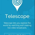 Telescope Windows Phone Uygulaması