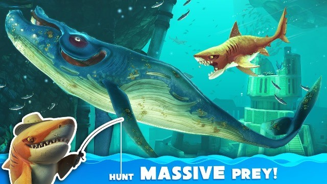 Hungry-Shark-World-android-indir