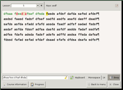 Klavaro Touch Typing Tutor indir