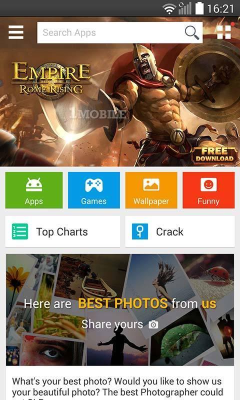 google play benzeri android market kaliteli uygulama indir