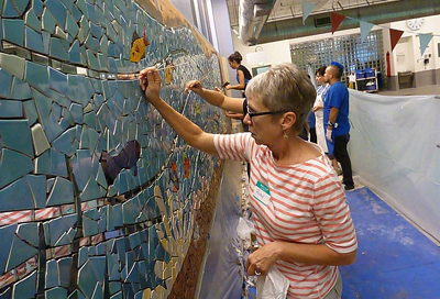 Mosaic Project Connecting The UCSF Community Through Art UC San Francisco