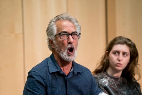 Actor David Strathairn reads Ajax scenes
