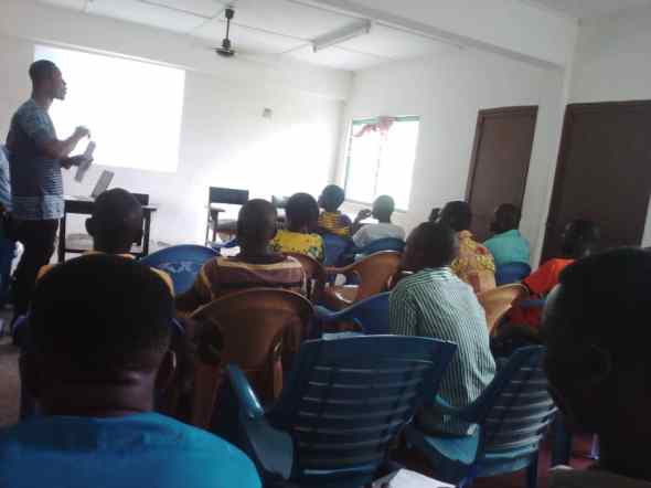 UCSOND TRAINS NETWORK FOR COMMUNITY DEVELOPMENT MONITORS (NCDMs) IN AHANTA WEST MUNICIPAL