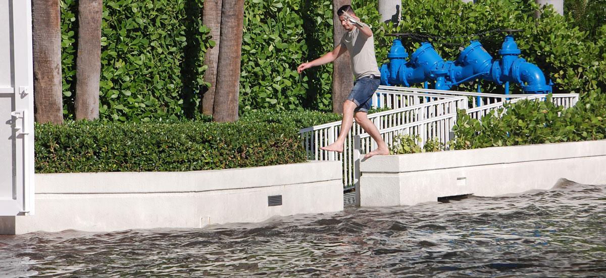 flooding in Miami, Florida