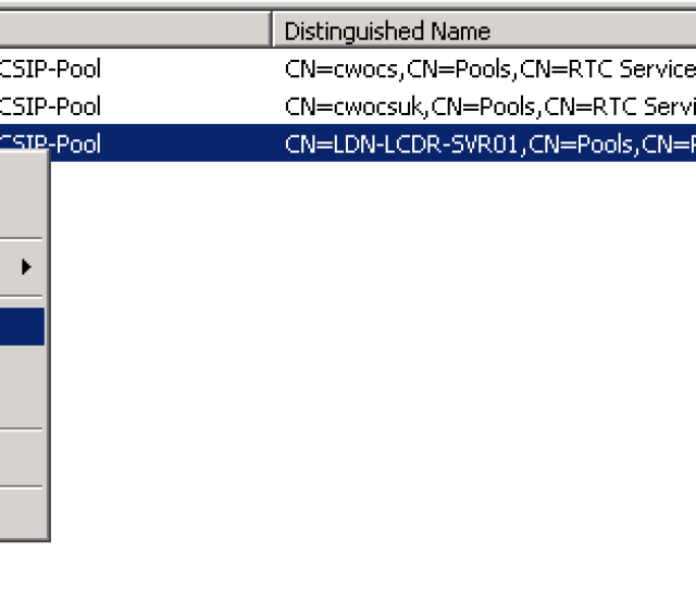 Once Ad Replicates Open The Ocs 2007 R2 Management Console And Check The Earlier Server Versions Branch Should Now Be Empty