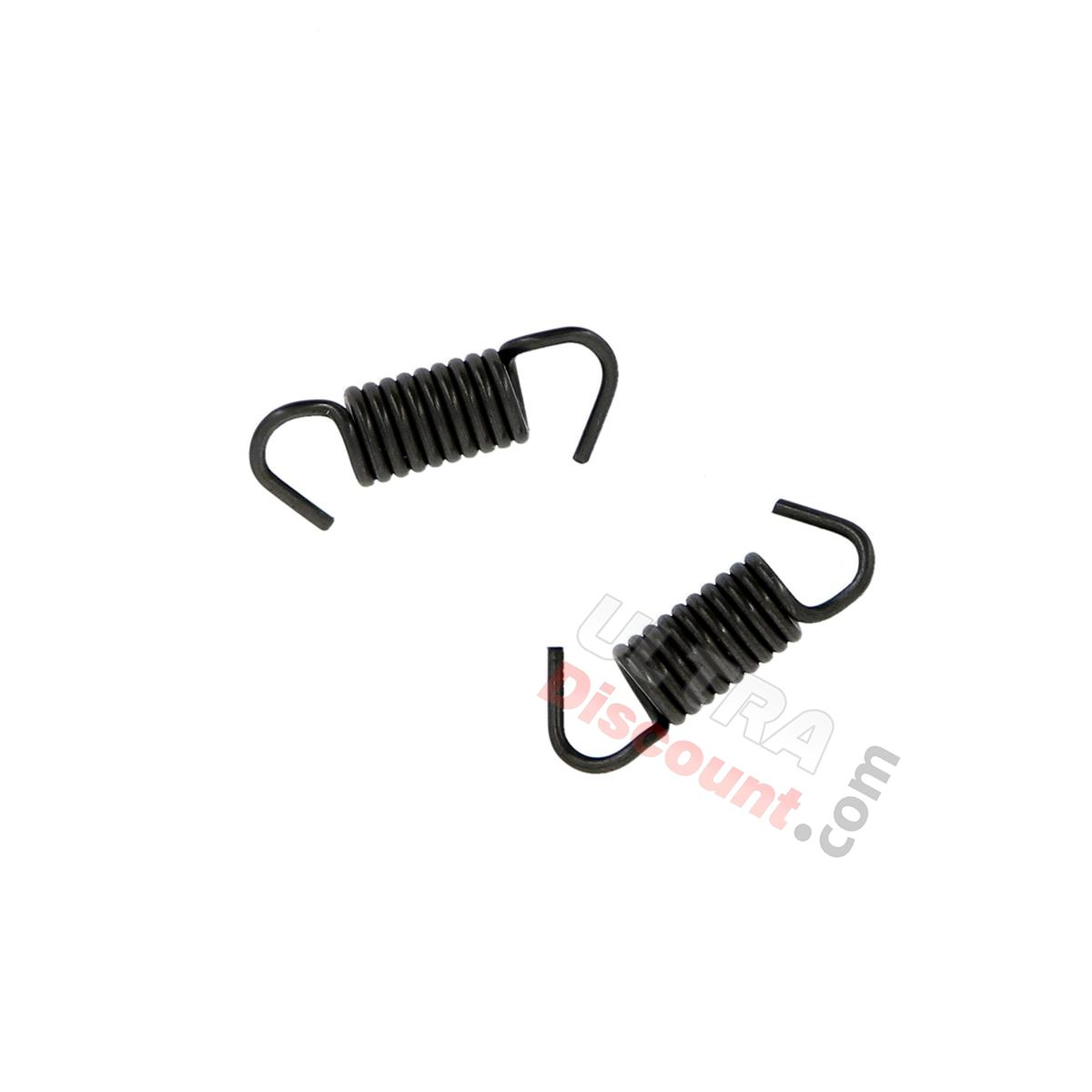 Set Of 2 Brake Shoes Springs For Scooter Baotian Bt49qt 9