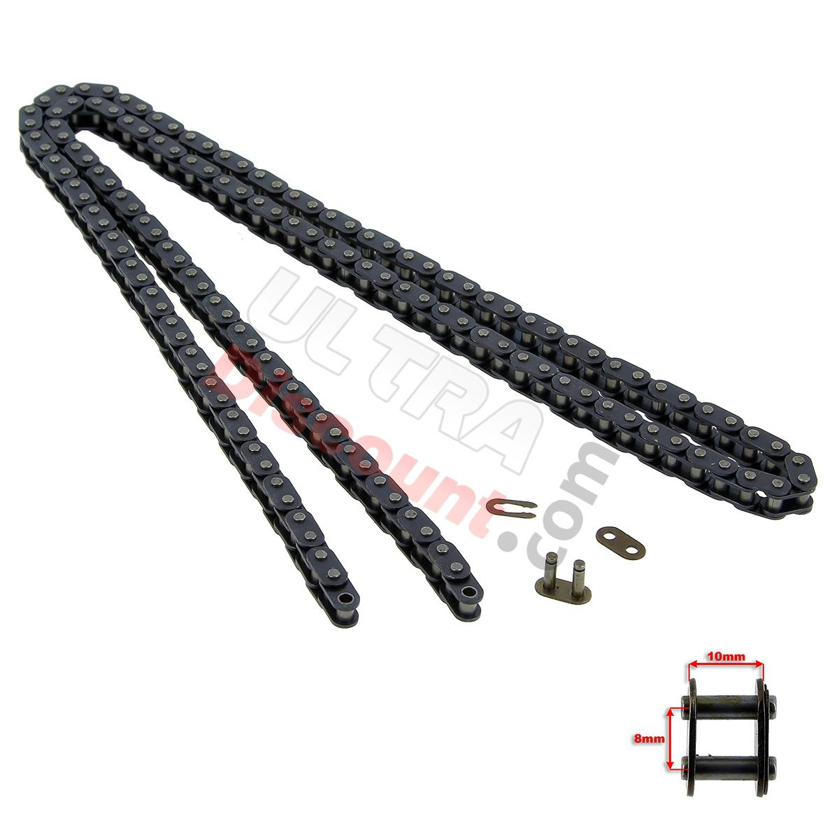 72 Large Links Reinforced Drive Chain For Cross Pocket