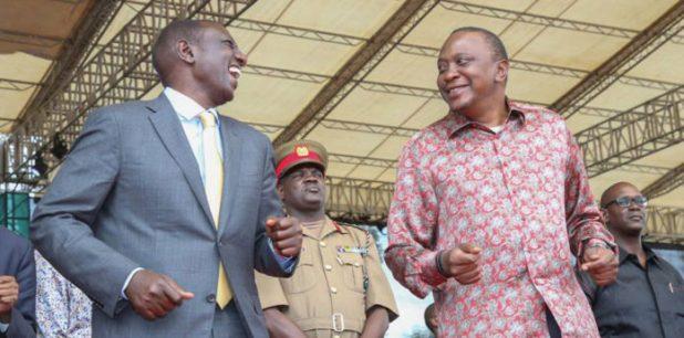 Ruto's wife Rachel wearing Uhuru's favorite silk shirt