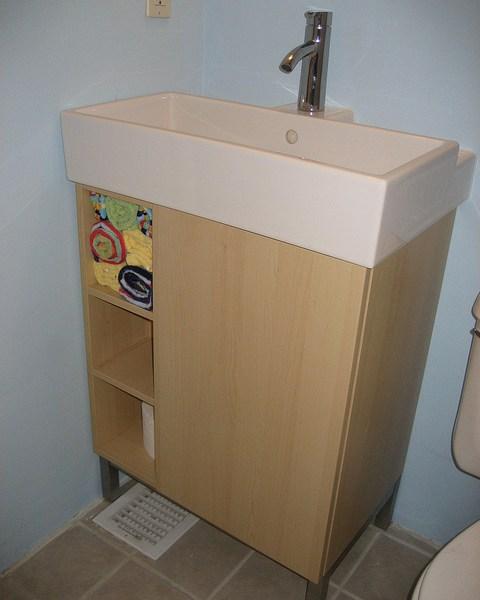 Ikea Lillangen vanity | udandi.com