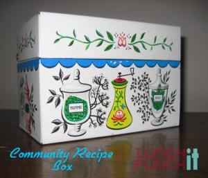 community recipe box