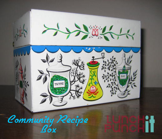 community recipe box
