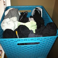 The Workout Clothes Basket