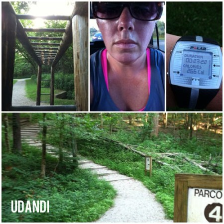 Woodland Mound Parcours Trail Workouts for Fitness udandi.com