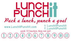 Lunch It Punch It Loyalty Card