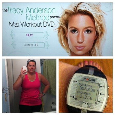 Tracy Anderson Mat workout DVD | udandi.com
