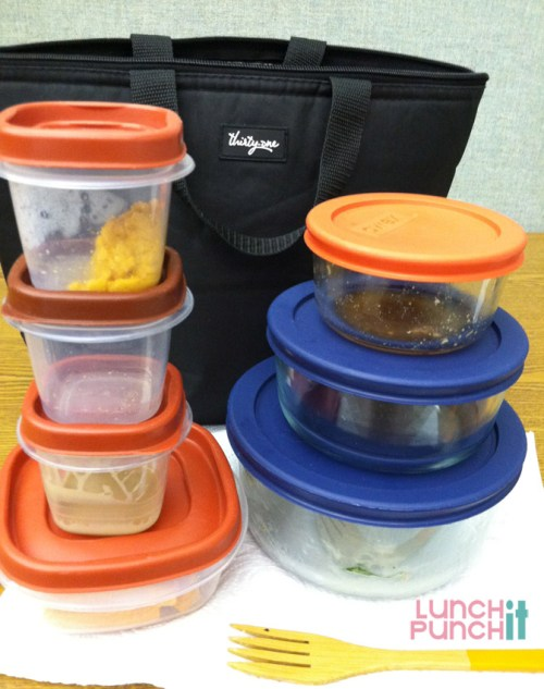 Packed lunch aftermath |lunchitpunchit.com
