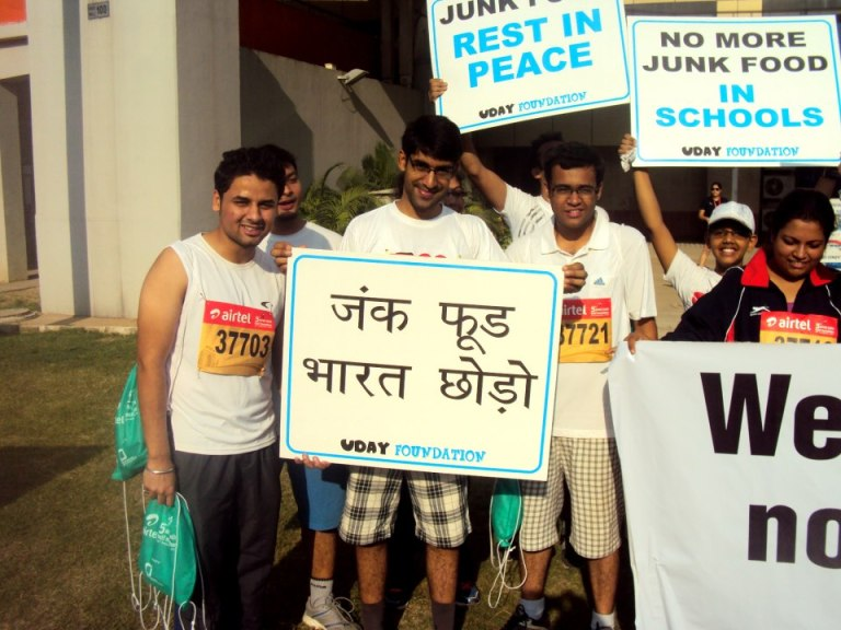 Junk Food leave India
