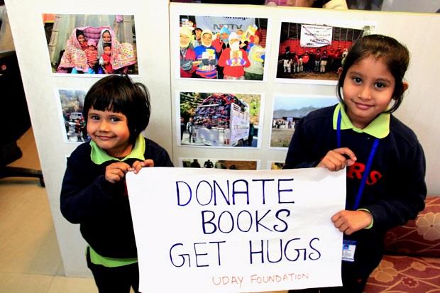 donate books delhi