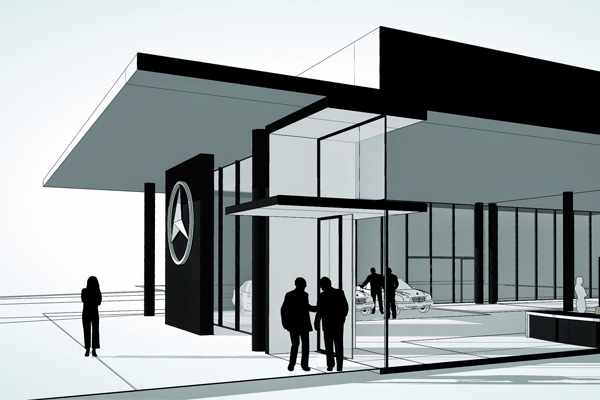 Mercedes Benz Espacio Comercial