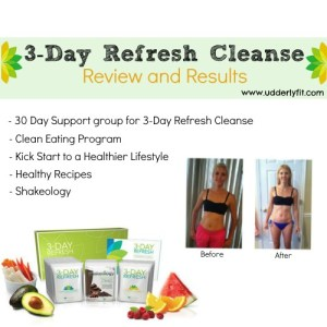 3-Day Refresh Cleanse Review and Results