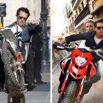 Stuntman Tom Cruise