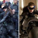 Stuntwoman Anne Hathaway