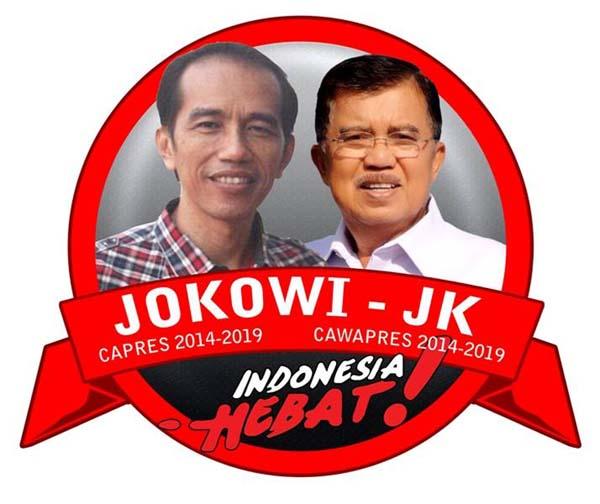 Joko Widodo dan Jusuf Kalla