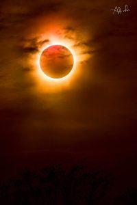 Foto Gerhana Matahari Total Indonesia