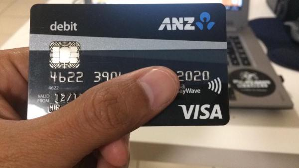 Kartu Debit Bank ANZ Australia