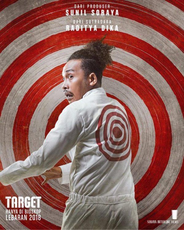 Abdur Arsyad - Poster Karakter Film Target