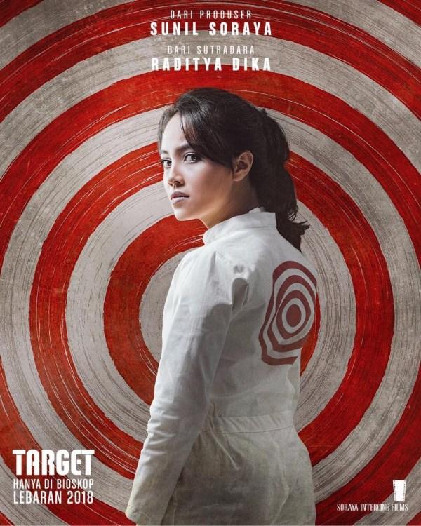 Anggika Bolsterly - Poster Karakter Film Target