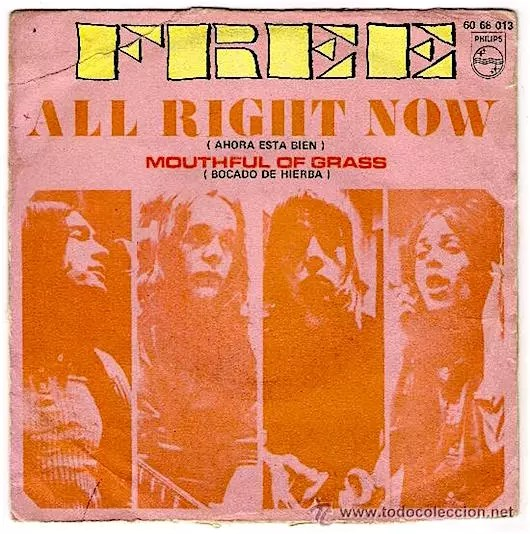 Free, All Right In 1970