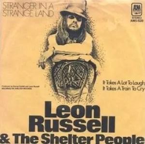 Leon Russell Stranger in a Strange Land
