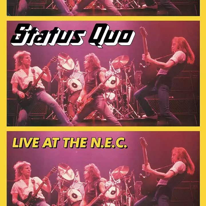 Famed 1982 Status Quo Show For CD, LP Revival
