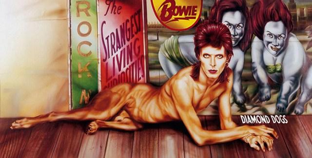 David Bowie Diamond Dogs Album Cover Gatefold
