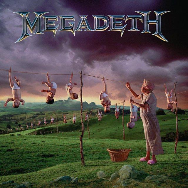Megadeth Youthanasia Album Cover