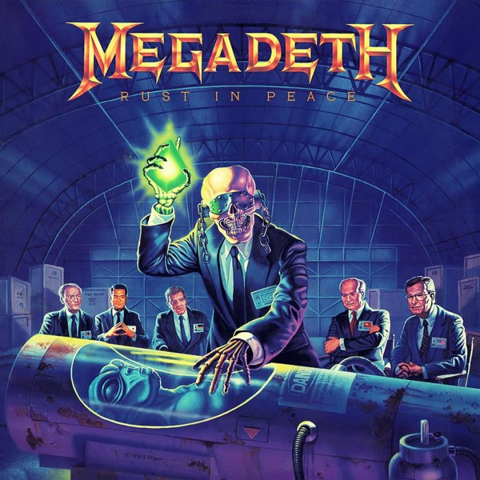 Image result for Megadeth – Rust in Peace