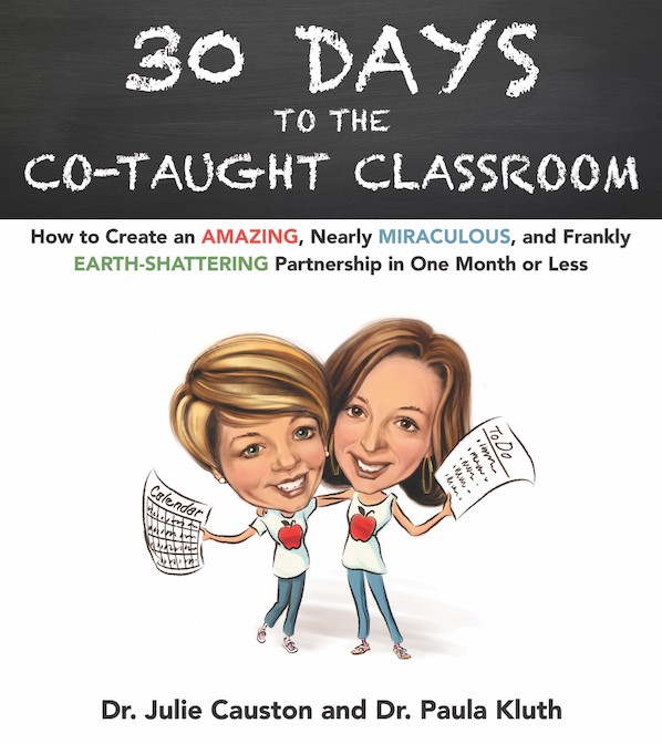 Book cover for Paula Kluth's 30 Days to the Co-taught Classroom