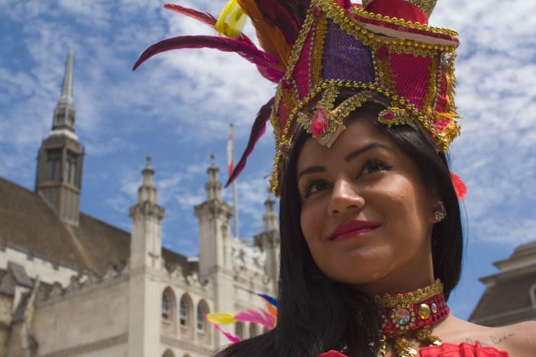 UDMSamba Porta Bandeira, Tower of London