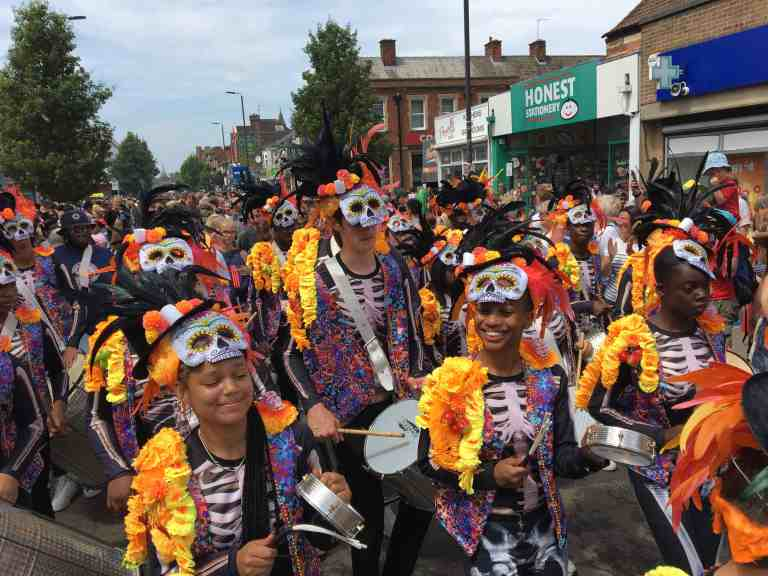 UDMSamba Cowley Road Carnival 2018, bateria