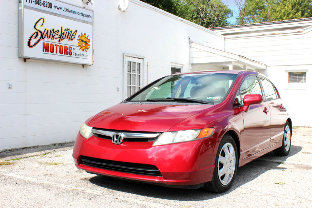 Honda Civic 2006 Front Side Buy Here Pay Here York PA