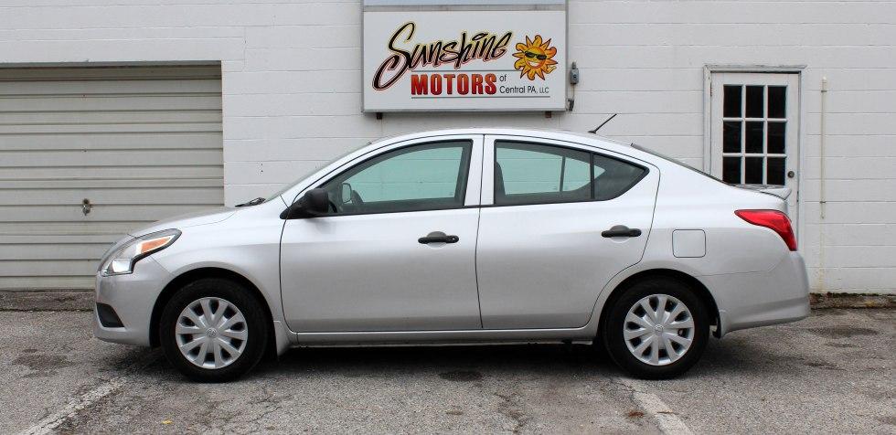 Nissan Versa 2015 Side Buy Here Pay Here York PA