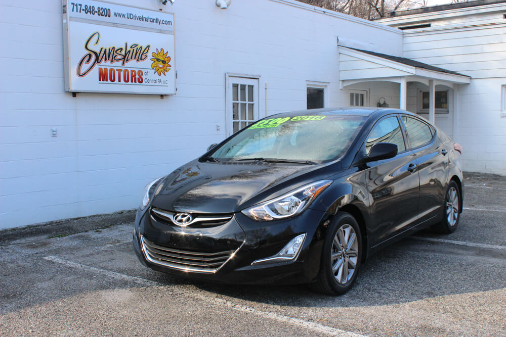 Hyundai Elantra 2016 Front Side Buy Here Pay Here York PA