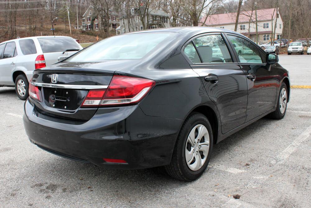 2013 Honda Civic Rear Side Buy Here Pay Here York PA