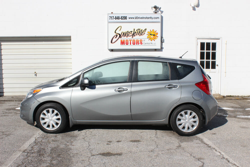 2014 Nissan Versa Note Side Buy Here Pay Here York PA