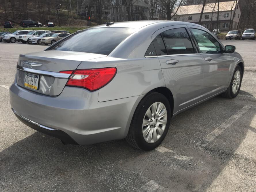 2013 Chrysler 200 Rear Side Buy Here Pay Here York PA