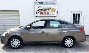 2016 Nissan Versa Side Buy Here Pay Here York PA