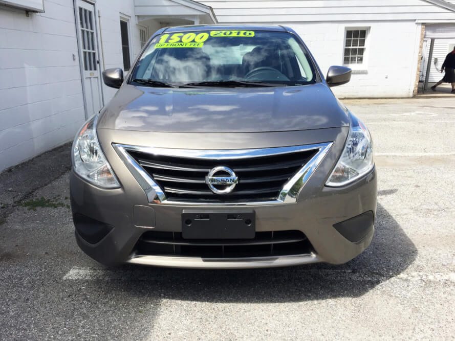 2016 Nissan Versa Front Buy Here Pay Here York PA