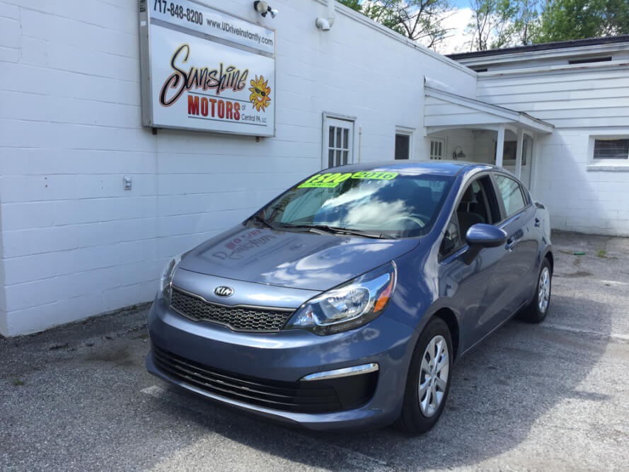 2016 Kia Rio Front Side Buy Here Pay Here York PA