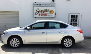 2016 Nissan Sentra Side Buy Here Pay Here York PA